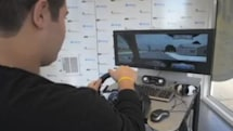 Simulator warns students of dangers of texting while driving