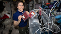 Christina Koch breaks record for longest spaceflight by a woman