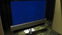 Bang and Olufsen sweats the details on its moving TV