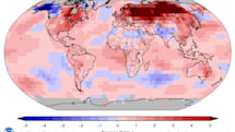 Last month was the hottest January on record