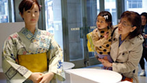 Toshiba's humanoid retail robot is ready to greet you