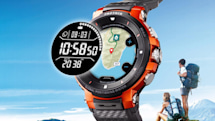 Casio's new smartwatch features offline color maps and GPS tracking