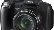 Canon PowerShot SX1 IS coming to US in April, nine others unveiled