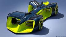Roborace will feature futuristic, sci-fiesque driverless cars