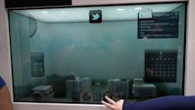 Samsung demos transparent LCD using ambient backlight