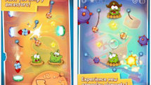 Daily iPhone App: Cut the Rope: Time Travel sends Om Nom through the centuries