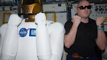 Robonaut 2 gets unboxed in space, plans for galactic domination