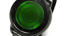 Kisai's Rogue Touch watch displays dual timezones, is mildly confusing to read (video)