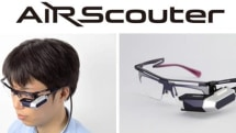 Brother's AirScouter floats a 16-inch display onto your eye biscuit (video)