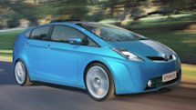 2010 Prius revealed, sneakers still a major design influence