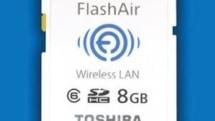 Toshiba FlashAir WiFi SD Card will make your Eye-Fi's water