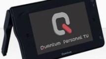 Quantum / AvMap's QTM 1000 Nav handheld touts DVB-H and GPS