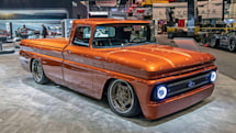 Chevy's electric hot rod truck mimics the sound of a V8
