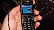 Samsung's A727 for Cingular in the flesh