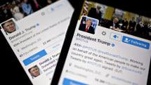 Senators ask for info on Trump's smartphone use