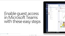 Microsoft Teams closes in on Slack by adding guest accounts