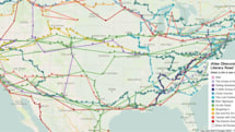 This interactive map crams in American literature's greatest road trips