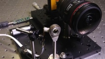 UCSD engineers develop mini wide-angle lens that's ten times smaller than a regular one