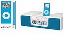 iHome unveils bevy of colorful iPod alarm clocks / speaker systems
