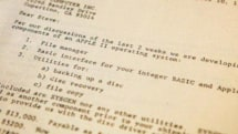 A look at the original Apple II disk operating system documents