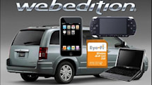 Chrysler's Web Edition vehicle package: includes WiFi, iPod touch and a Dell Mini 9