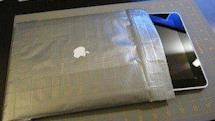 DIY coolness: a duct tape iPad sleeve and two clever docks