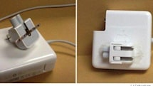Nifty tip for retaining the detachable plug on an Apple Power Supply