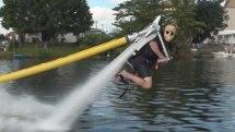 Water-powered Jetlev makes jetpacks fun for non-daredevils