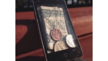 Turn a broken iPod into a fashionable, but fractured wallet