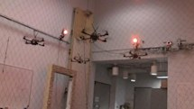 GRASP Lab quadrocopters learn to follow the leader and fly in formation