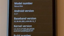 Nexus One getting minor update to Android 2.2.1