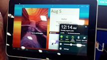 Samsung brings WNBA-sized Galaxy Tab 8.9 to BlogHer 2011