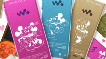 Sony Japan busts out Mickey Mouse-ified S Series Walkmans