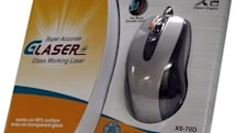 Royche / A4Tech busts out glass-friendly Glaser Mouse X6-70D