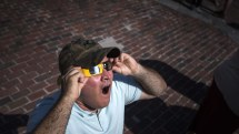 This is why you don't look directly at a solar eclipse