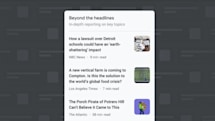 Google News dives deeper into stories with 'Beyond the Headlines'