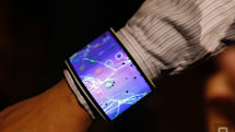 A closer look at Lenovo's bendable concept phone and tablet