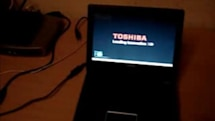 Toshiba's NB105 netbook shows up on video