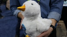 This robot therapy duck comforts kids with cancer