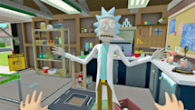 'Virtual Rick-ality' is a VR treat for 'Rick and Morty' fans