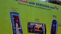 Samsung's Omnia HD and Beat DJ unveiled in massive MWC ad