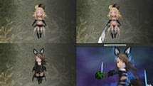 Bravely Default outfits, ages altered in Western release