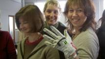 CuteCircuit's Secret Message Glove
