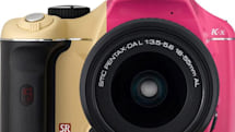 Pentax K-x introduced in four new colors, double rainbow now fully complete