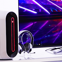 Alienware's Aurora desktop and gaming monitors get a huge redesign