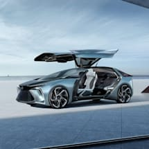 Lexus's first autonomous EV has drones and 'artificial muscle technology'