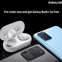 Galaxy S20 and Galaxy Buds+ leak together in official-looking shots