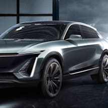 Cadillac will unveil its first all-electric vehicle in April