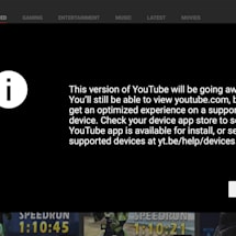 YouTube is shutting down its TV-friendly web interface