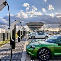 Porsche opens Europe's most powerful EV charging park